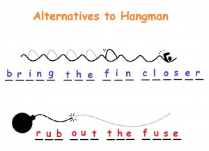 Not your traditional hangman!