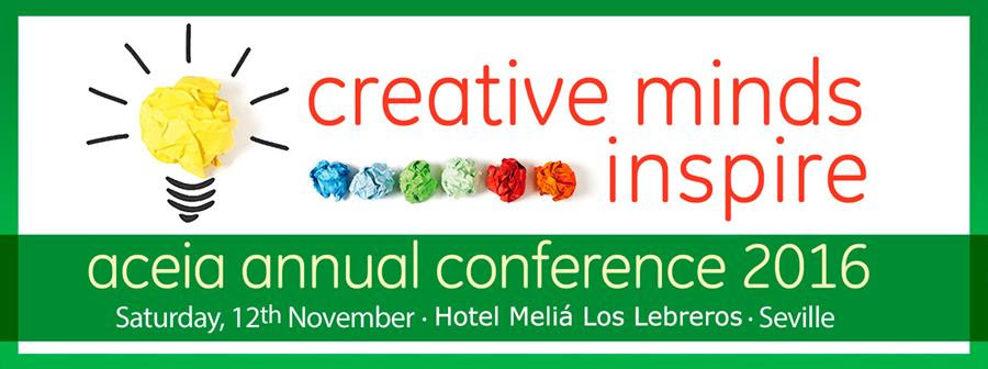 ACEIA Annual Conference 2016 Creative Minds Inspire