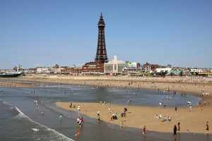 Blackpool Tower, image by Ingy The Wingy, licensed under CC 2.0