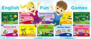 Free games for practising English