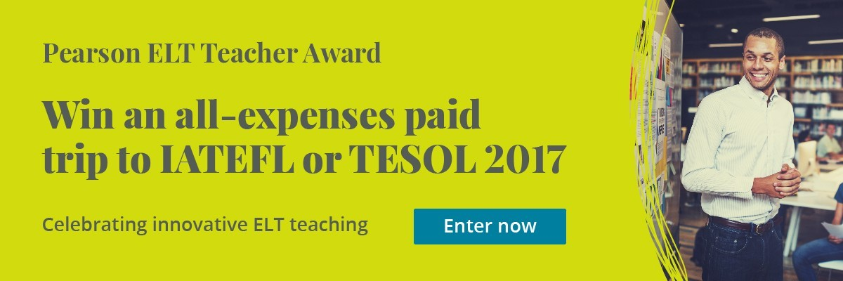 Pearson ELT Teacher Award